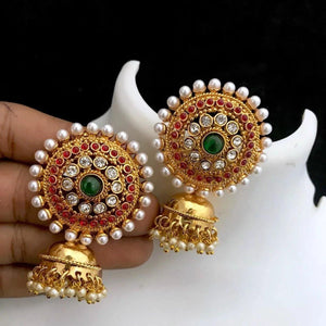 Traditional Jhumkas ES638 | Sunu's Fashions