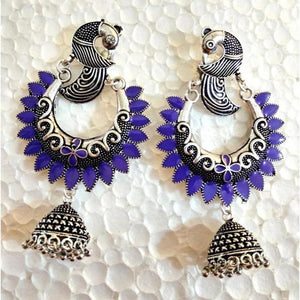 Peacock Earrings ES673 | Sunu's Fashions