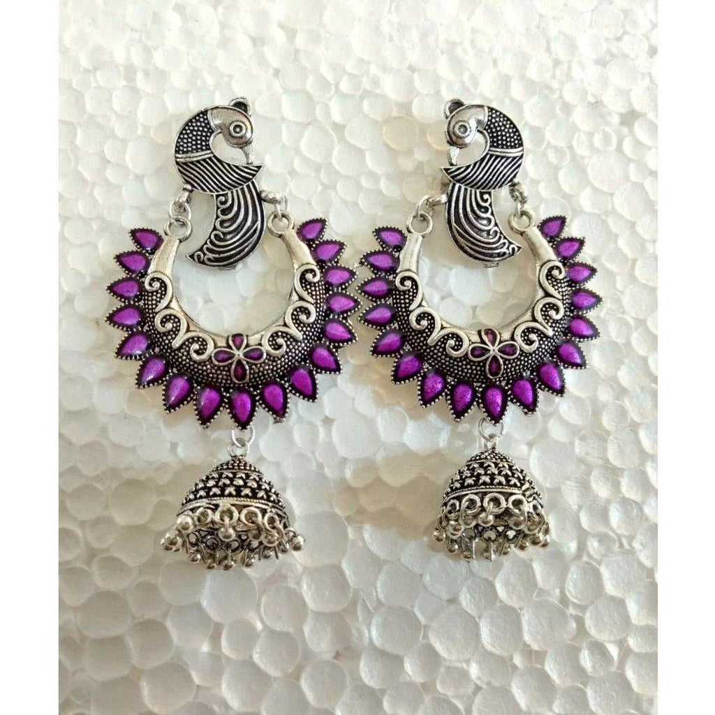 Peacock Earrings ES675 | Sunu's Fashions