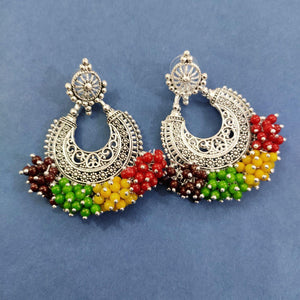 Multicolored Beads Boho Drops ES745 | Sunu's Fashions