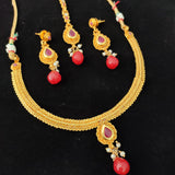 Classic Golden Necklace  NKC384 | Sunu's Fashions