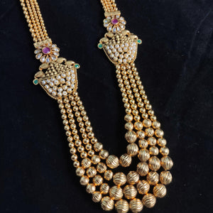 Multilayered Antique Necklace NKC392 | Sunu's Fashions