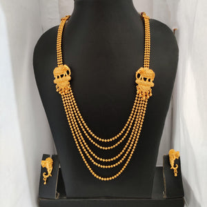 Bahubali Style Multi Layered Ball Necklace NKC400 | Sunu's Fashions