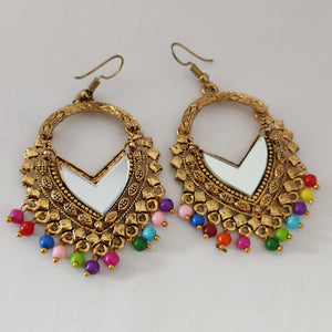 Multi-beaded Statement Earrings ES870 | Sunu's Fashions