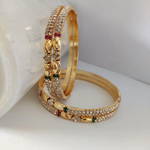Ethnic Stone Bangle Set B104 | Sunu's Fashions