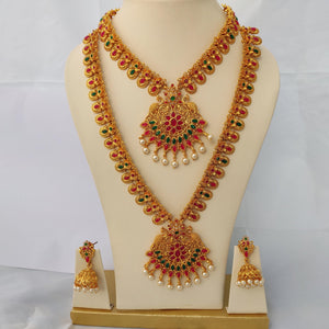 Bridal Jewellery Combo Set NKC407 | Sunu's Fashions