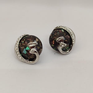 Glass Stud Earrings ES902 | Sunu's Fashions