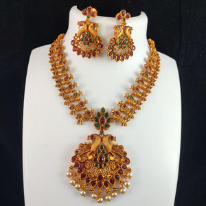 Bridal jewelry combo set NKC437 | Sunu's Fashions