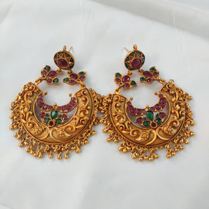 Traditional bridal earrings ES901 | Sunu's Fashions