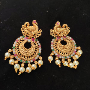 Bridal jewelry combo set NKC439 | Sunu's Fashions
