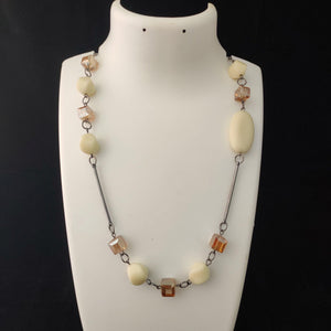 Crystal beaded necklace NKC444 | Sunu's Fashions