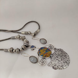 German Silver Necklace NKC482