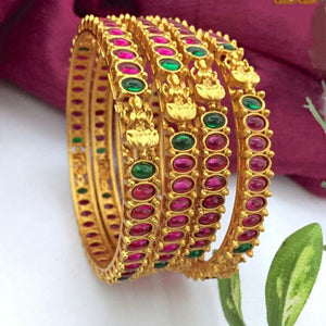 Matte Lakshmi Bangle B119 - Sunu's Fashions