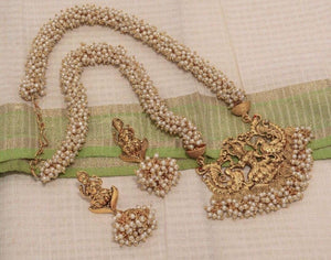 Pearl Lakshmi Necklace NKC538