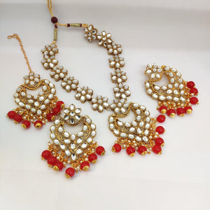 Kundan stone necklace NKC547