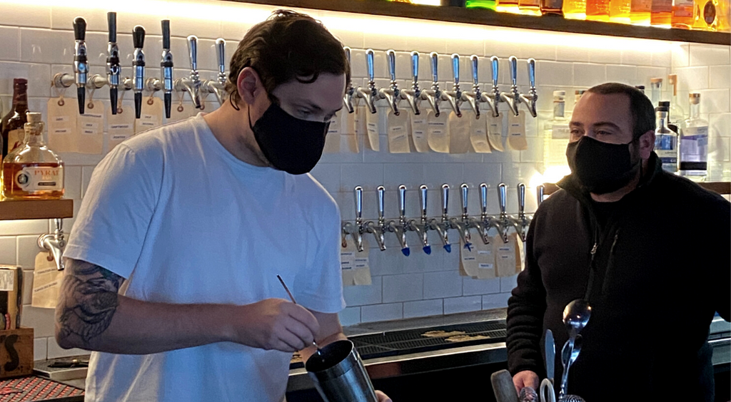 Darby's Pub: Reusable Face Masks for Restaurant Workers