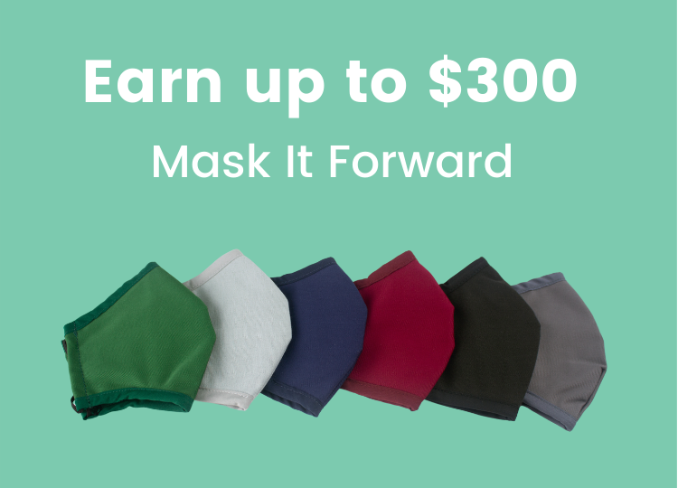 Vancouver-based Mask Company Gives People up to $300 per Referral Through Mask It Forward Program