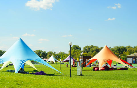 Promotional tent specialty fabric in Canada and USA