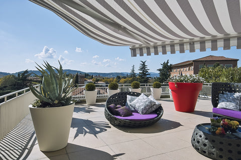 Residential awning specialty fabric in Canada and USA