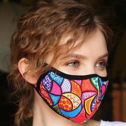 Colorful non-medical masks