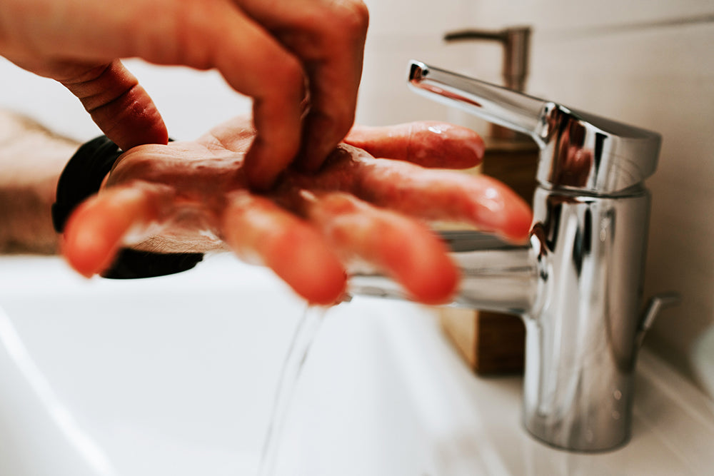 Wash hands for at least 20 seconds