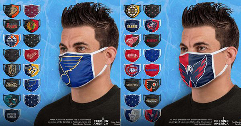 Branded face masks are becoming more popular
