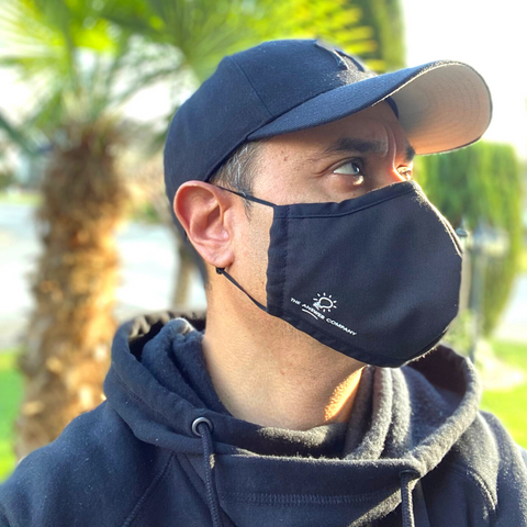 The Answer Company promotional branded reusable 3 layer mask