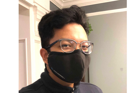 Groundswell Cloud Solutions' company branded face masks