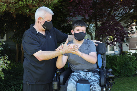 Mike and Caleb Pattenaude story with Masked For Work