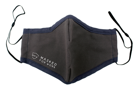 Masked For Work reusable, breathable 3-layer mask Canada