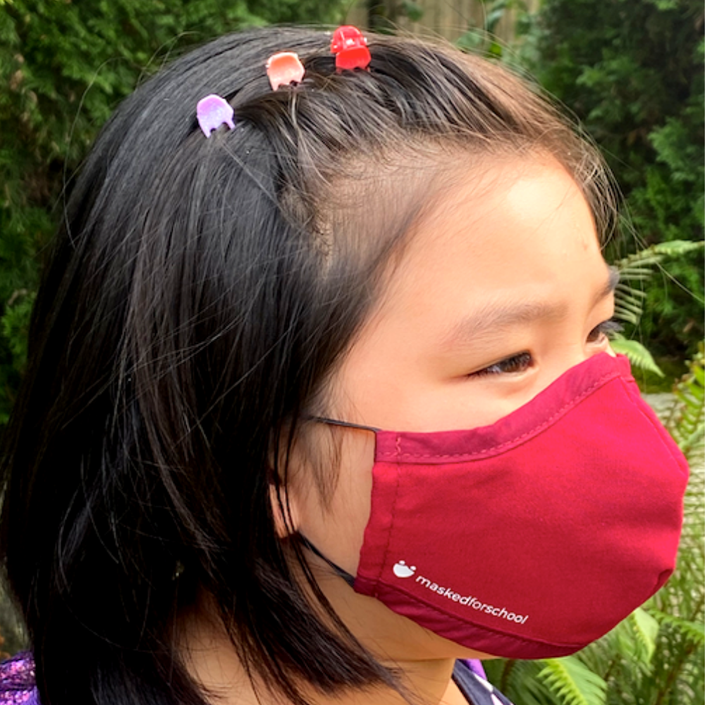 School Pack: 5 Masks for Kids/Teens