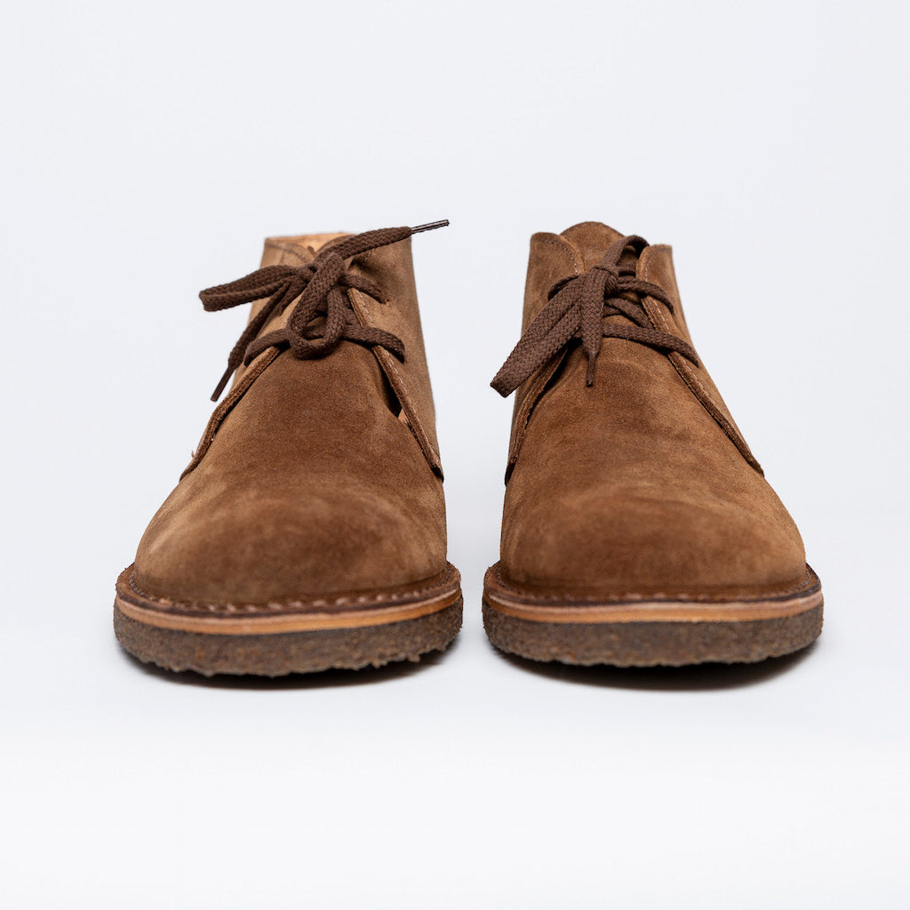 Dark Khaki Desert Boot- Astorflex