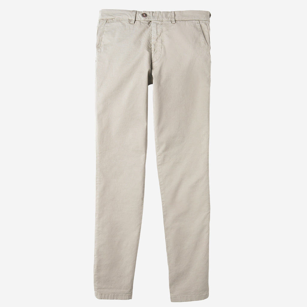 Premium Stretch Chino- Stone