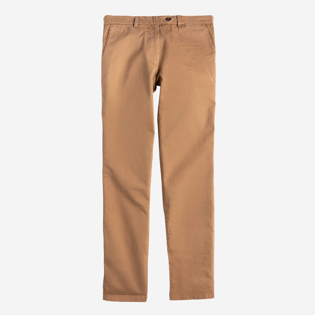 Premium Stretch Chino-Camel