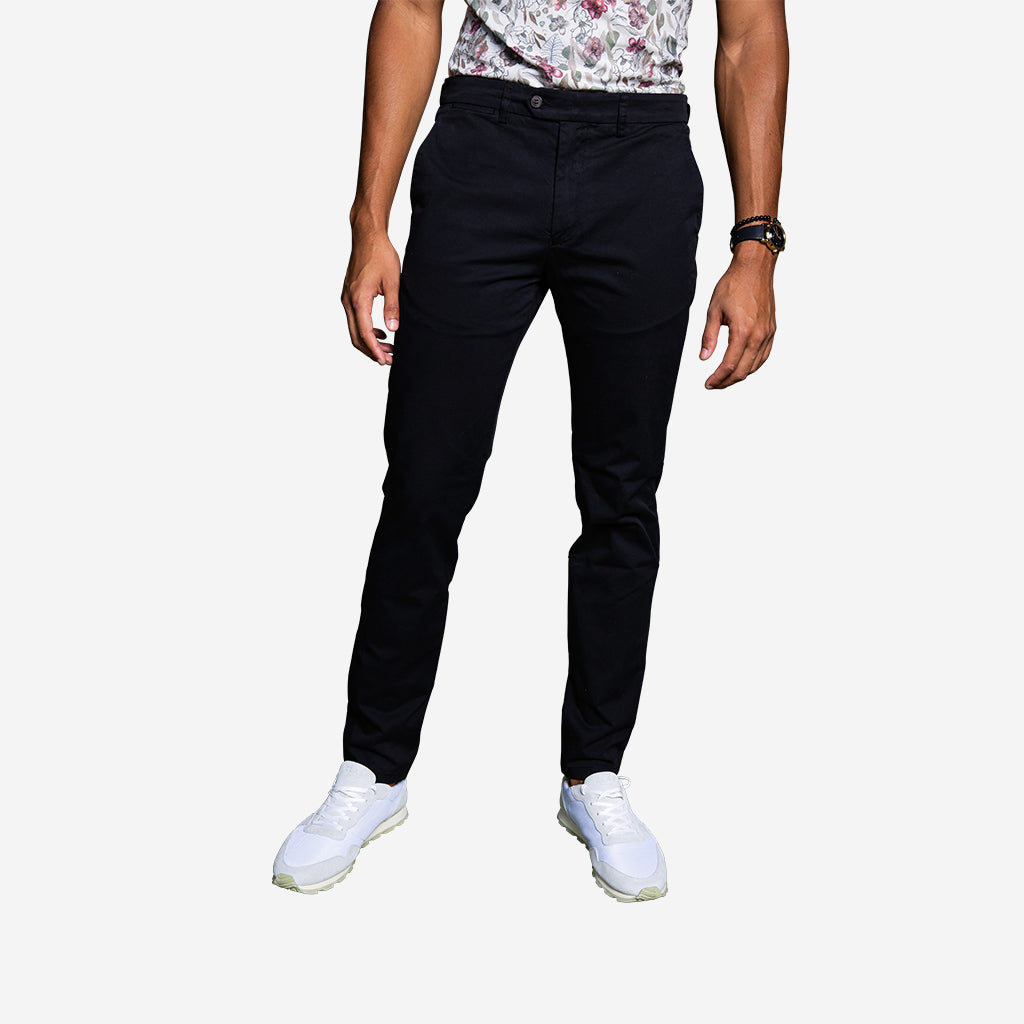 Premium Stretch Chino - Black