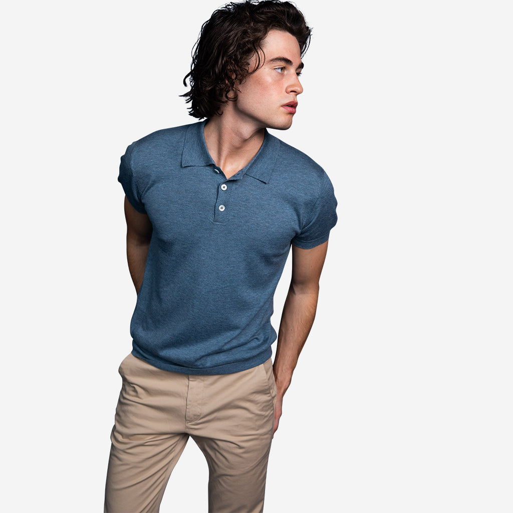 Superfine Merino Polo