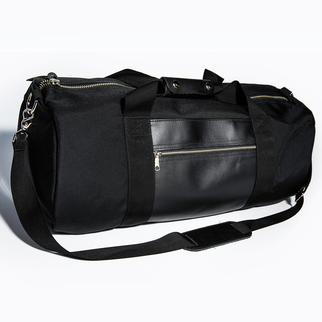 Ballistic Duffel with Nickel Hardware