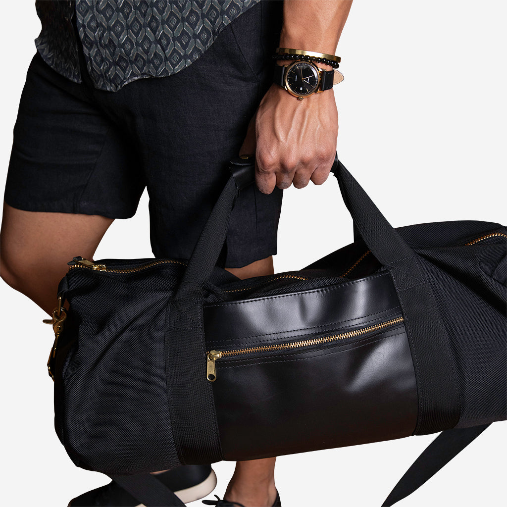 Ballistic Duffel with Brass Hardware