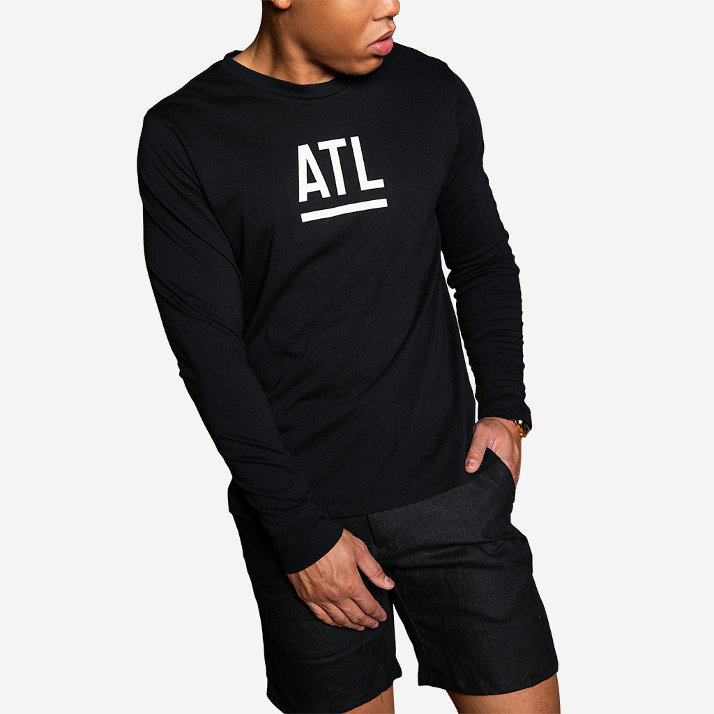 Black ATL Long Sleeve