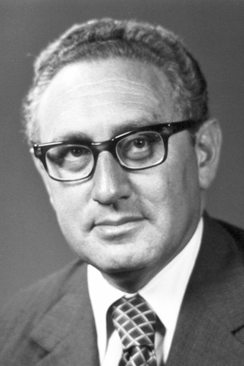 Small Talk With Henry Kissinger