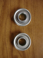 2- Zinc Plated, NMW Crafts, Dutch Windmill Paddle Bearings