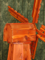 5 foot Octagon Red Cedar, Dutch Windmill