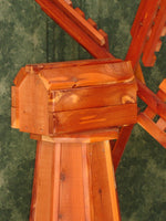 46 inch Red Cedar Dutch Windmill