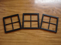 Mini Windows-Black Decorative Windows