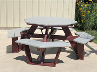 Octagon Poly wood Picnic Table