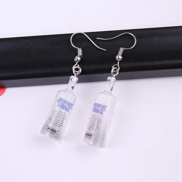 Absolut Vodka Earrings