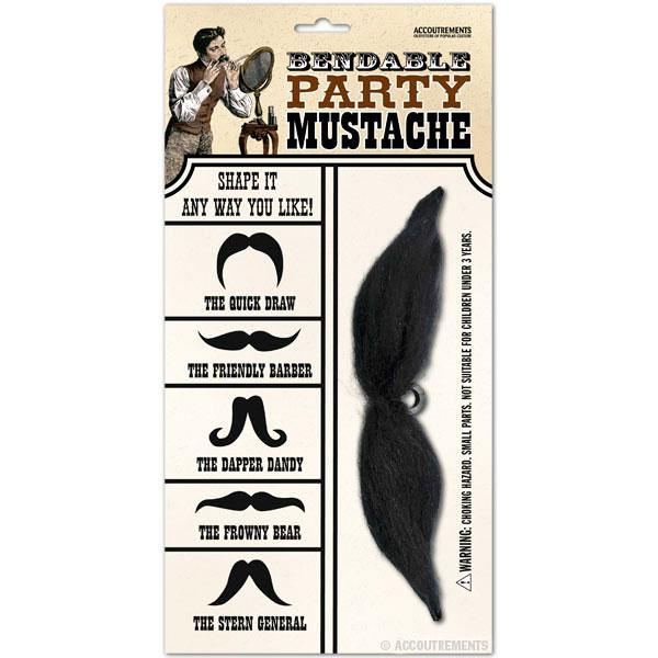 Mustache Party Bendable Mustache
