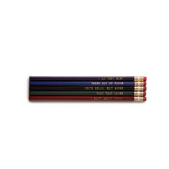 Snarky Pencil Set