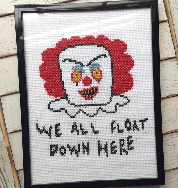 Pennywise Cross Stitch Kit