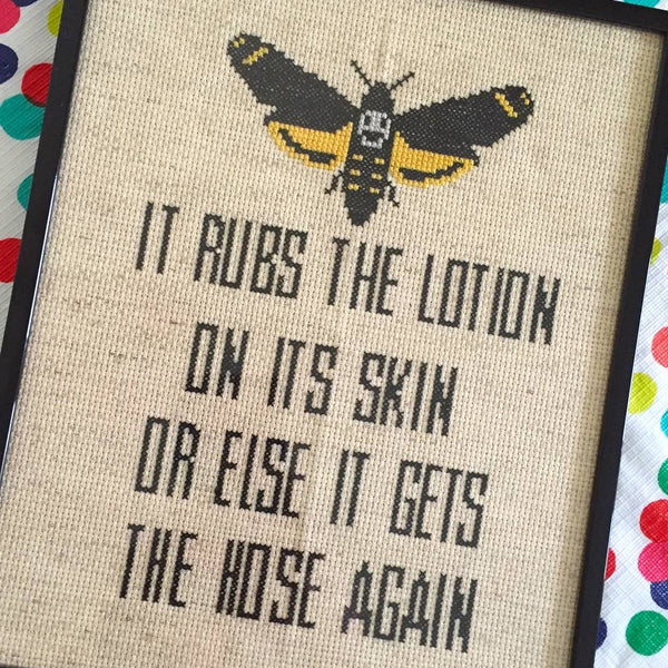 Silence Of The Lambs Cross Stitch Kit